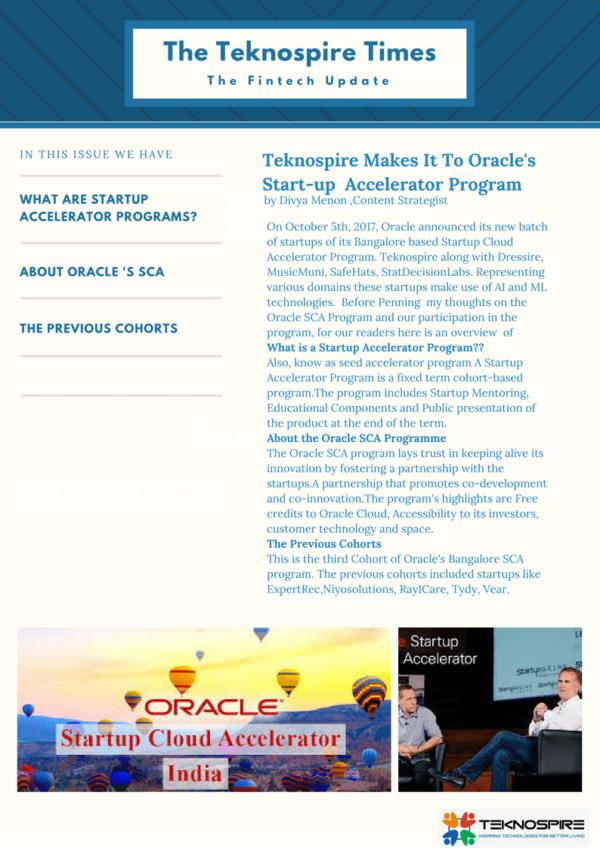 Oracle Accelerator India