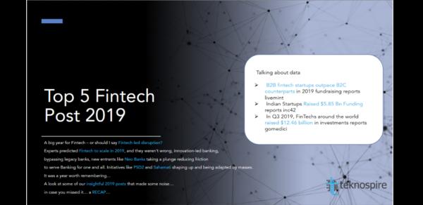 Top 5 Fintech Posts 2019